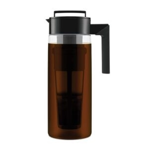 Takeya Patented Deluxe Cold Brew Coffee Maker, 2 Quart – Price Drop – $16.97 (was $27.99)