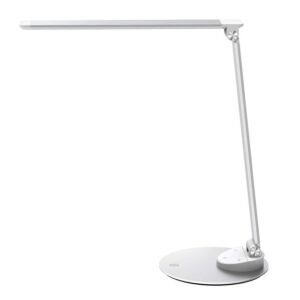 TaoTronics Eye-care Dimmable LED Desk Lamp with iSmart USB Port – Price Drop – $33.14 (was $38.99)