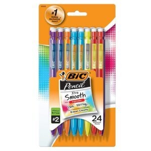 24-Count Xtra Smooth Color Edition BIC Pencils – Coupon Code 50MPSHINE – Final Price: $3.53 (was $7.06)