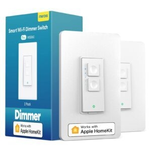 2-Pack meross Smart Dimmer Switch – $36.99 – Clip Coupon – (was $45.99)