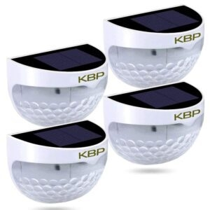 4-Pack KBP Solar Fence Lights – Coupon Code 50KBPSOLAR – Final Price: $14.99 (was $29.99)