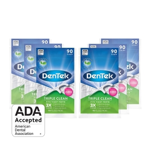 6-Pack DenTek Triple Clean Floss Picks – Price Drop + Clip Coupon – $9.54 (was $17.51)