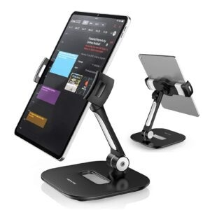 AboveTEK Aluminum Cell Phone and Tablet Stand – Coupon Code 67GRI2DY – Final Price: $21.99 (was $42.99)