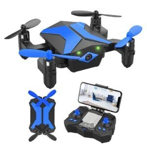 Attop Foldable Pocket RC Quadcopter Mini Drone – $29.99 – Clip Coupon – (was $49.99)
