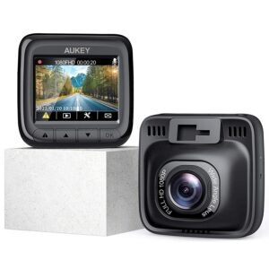 AUKEY Full HD 1080P Dash Cam – $39.59 – Clip Coupon – (was $59.99)
