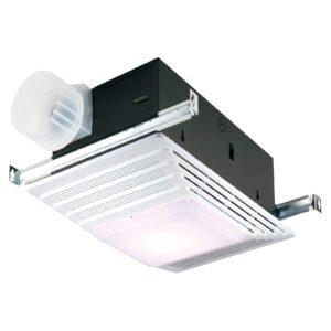 Broan-NuTone 655 Bath Fan and Light with Heater – Price Drop – $47.79 (was $68.45)