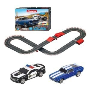 Carrera Speed Trap 1:43 Scale Slot Car Racing Track Set – $33.87 – Clip Coupon – (was $44.99)
