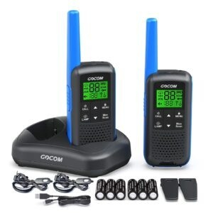 GOCOM G600 FRS Walkie Talkies for Adults – Coupon Code 40VHDYLJ – Final Price: $27.99 (was $45.99)