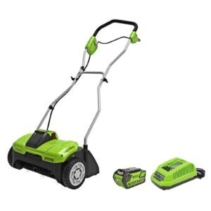 Greenworks 40V 14 inch Cordeless Dethatcher/Scarifier – Price Drop – $209.97 (was $299.95)