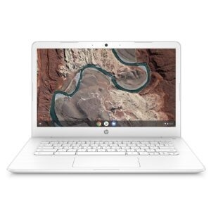 HP Chromebook 14-Inch Full HD Screen Laptop, Snow White – Price Drop – $229.99 (was $279.99)