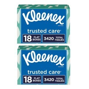 Kleenex Trusted Care Facial Tissues – Clip Coupon – Add 2 to Cart – Price Drop at Checkout – $39.74 (was $68.40)