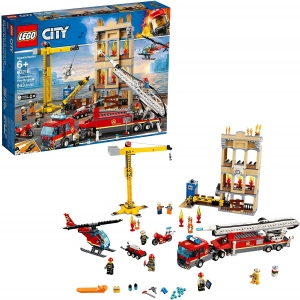 LEGO City Downtown Fire Brigade Building Kit – Price Drop – $79.99 (was $99.99)