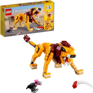 LEGO Creator 3-in-1 Wild Lion Building Kit – Price Drop – $11.99 (was $14.99)
