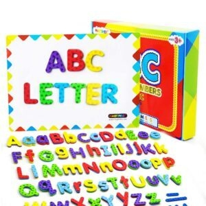 Magtimes Dry Erase Board with Magnetic Letters and Numbers – Lightning Deal + Clip Coupon – $9.71 (was $18.99)