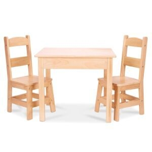 Melissa and Doug Tables and Chairs 3-Piece Set – $77.99 – Clip Coupon – (was $103.99)