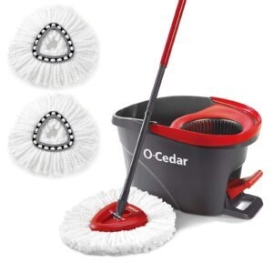 O-Cedar EasyWring Microfiber Spin Mop and Bucket – Price Drop – $31.19 (was $38.99)