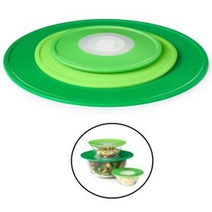 OXO Good Grips 3-Piece Reusable Silicone Lid and Splatter Guard Set – Price Drop – $8.99 (was $24.99)