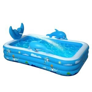 Oxsaml Inflatable Pool – Clip Coupon + Coupon Code 32A1YV4T – $44.79 (was $109.99)