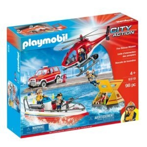 Playmobil Fire Rescue Mission – Price Drop – $44.20 (was $69.99)
