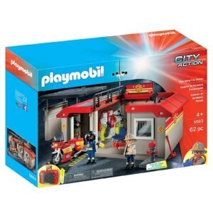 PLAYMOBIL Take Along Fire Station – $25.12 – Clip Coupon – (was $33.13)