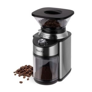 Sboly Stainless Steel Conical Burr Coffee Grinder – $49.99 – Clip Coupon – (was $69.99)
