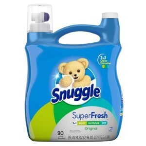 Snuggle Plus Super Fresh Liquid Fabric Softener – Add 2 to Cart – Price Drop at Checkout – $10.98 (was $15.98)