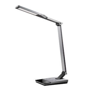 TaoTronics Stylish Metal LED Desk Lamp with Fast Wireless Charger – Price Drop – $76.49 (was $99.99)