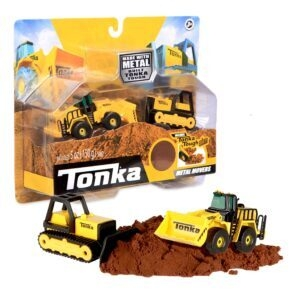 Tonka Metal Movers Bulldozer and Front Loader Combo – Price Drop – $4.99 (was $7.99)