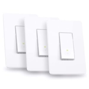 3-Pack Kasa Smart Light Switch – Price Drop + Clip Coupon – $29.99 (was $44.99)