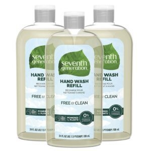 3-Pack Seventh Generation Hand Soap Refill – $13.48 – Clip Coupon – (was $17.97)