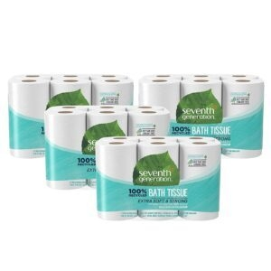 48 Rolls Seventh Generation Toilet Paper – $20.68 – Clip Coupon – (was $27.58)