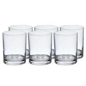 Amazon Basics Admiral Old Fashioned Glass Drinkware 6-Piece Set – Price Drop – $7.45 (was $9.73)