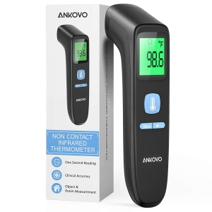 Ankovo Non-Contact Forehead Thermometer – Coupon Code 50HQL7IB – Final Price: $4.99 (was $9.99)