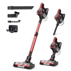 Aposen 4-in-1 Cordless Vacuum Cleaner – Clip Coupon + Coupon Code THK2SENT – $80.19 (was $145.99)