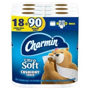 Charmin Ultra Soft Cushiony Touch Toilet Paper – Price Drop – $20.04 (was $26.24)