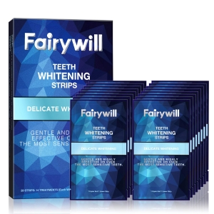 Fairywill Teeth Whitening Strips (Pack of 28 Strips) – Clip Coupon + Coupon Code 3RMSRCJX – $7.99 (was $21.99)