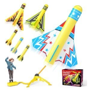 Jasonwell Toy Rocket Launcher for Kids – Lightning Deal + Clip   Coupon – $7.67 (was $17.99)