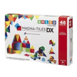 Magna-Tiles Colors Magnetic Building Tiles Deluxe Set – Price Drop – $41.78 (was $64.50)