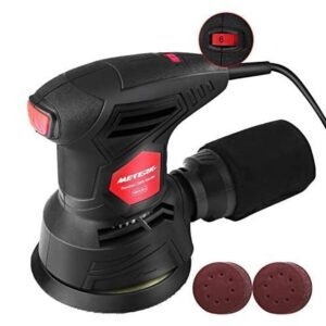 Meterk 5 Inch Random Orbit Sander Machine – Coupon Code B5O5IHH3 – Final Price: $24.99 (was $49.98)