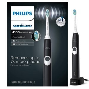 Philips Sonicare ProtectiveClean 4100 Rechargeable Electric Toothbrush – Price Drop + Clip Coupon – $34.95 (was $49.95)