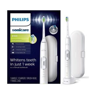 Philips Sonicare ProtectiveClean 6100 Rechargeable Electric Toothbrush – Price Drop + Clip Coupon – $79.95 (was $109.95)