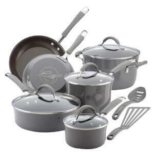 Rachael Ray Cucina Nonstick Cookware Pots and Pans Set – Price Drop – $99.99 (was $159.99)