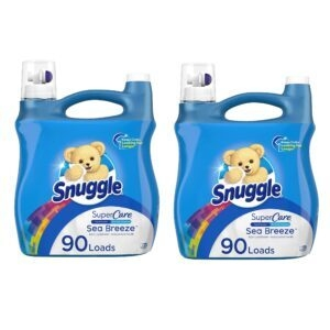 Snuggle SuperCare Liquid Fabric Softener – Add 2 to Cart – Price Drop at Checkout – $10.94 (was $15.94)