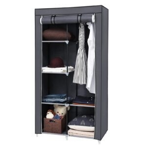 Songmics Portable Clothes Closet Wardrobe – Price Drop – $18.44 (was $31.99)