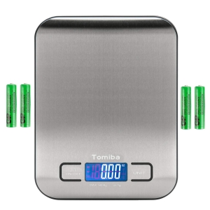 Tomiba Digital Kitchen Food Scale – Coupon Code PP2ZOZB4 – Final Price: $5.99 (was $14.98)