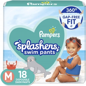 18-Count Pampers Splashers Swim Diapers – $5.97 – Clip Coupon – (was $8.97)