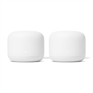 2-Pack Google Nest AC2200 Mesh WiFi Router – Price Drop – $239 (was $299)