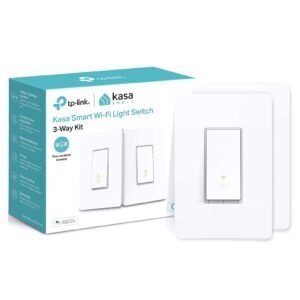 2-Pack Kasa 3-Way Smart Switch – $34.99 – Clip Coupon – (was $39.99)