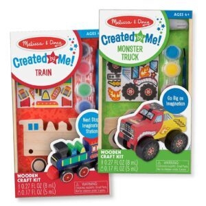 2-Pack Melissa and Doug Paint and Decorate Your Own Wooden Vehicles Craft Kit – Price Drop – $7.99 (was $11.99)
