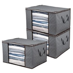 3-Pack BoxLegend Foldable Clothes Storage Bag – Price Drop + Coupon Code 60RQOCML – $10 (was $34.99)